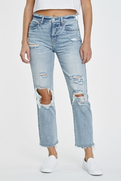 Shoptiques Product: Straight Up High Rise Jean - POPPIN