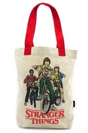 Loungefly Stranger-Things Bike-Gang Tote - Product Mini Image