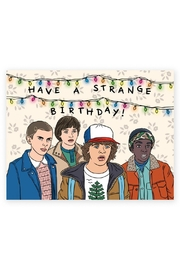 The Found Stranger Things Card - Front cropped