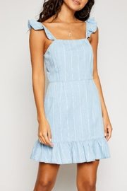 Sadie & Sage Strap Ruffle Dress - Product Mini Image