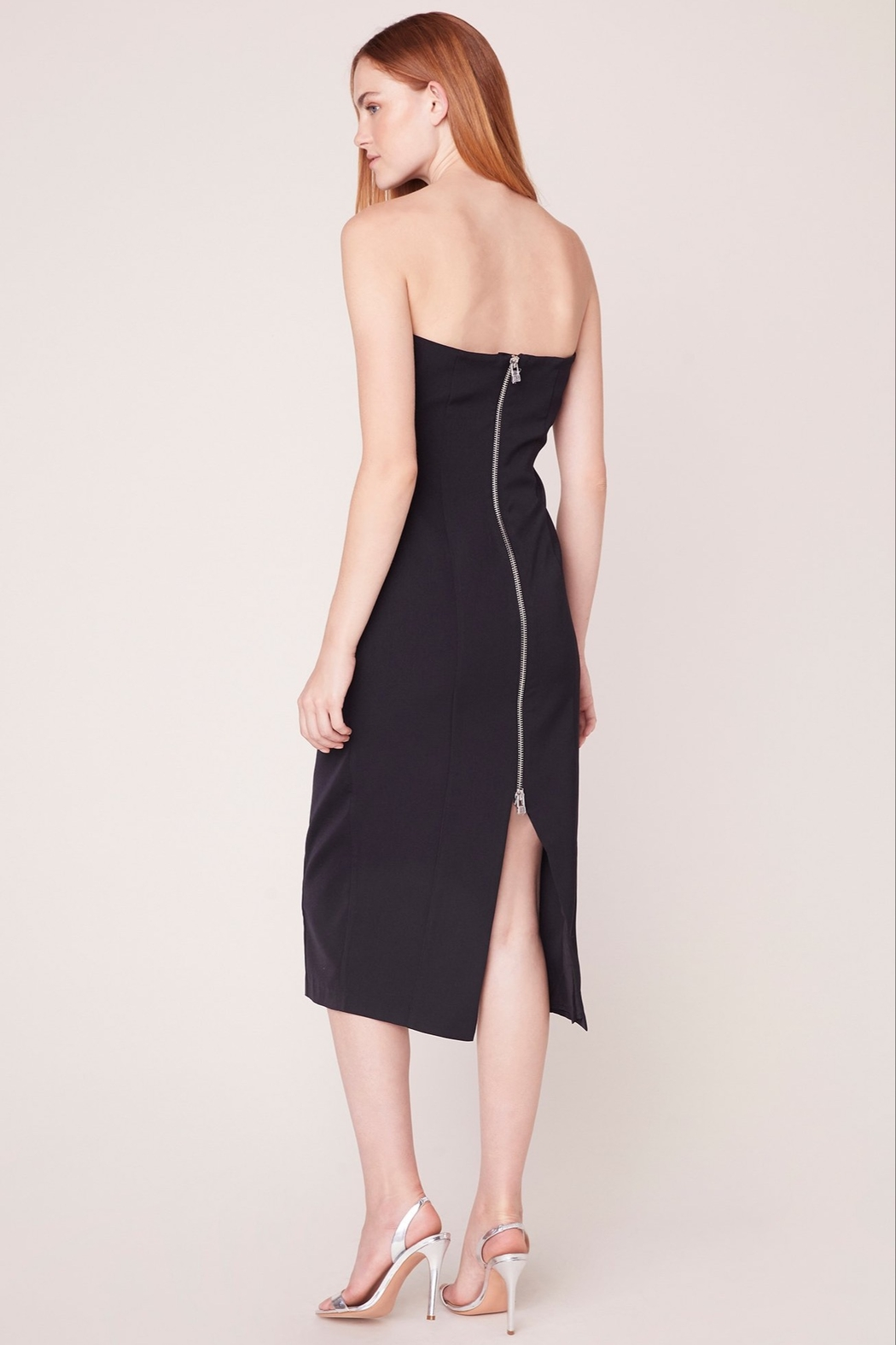 BB Dakota Strapless Body-Con Dress - Back Cropped Image