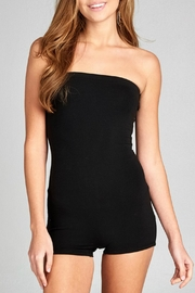 Minx Strapless Bodycon Romper - Front cropped
