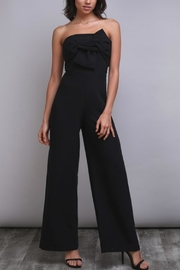 Do & Be Strapless Bow Jumpsuit - Product Mini Image