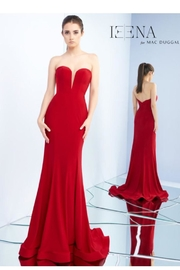Mac Duggal Strapless Bustier Gown - Product Mini Image
