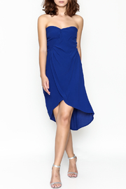 ASTR Strapless Cobalt Dress - Product Mini Image