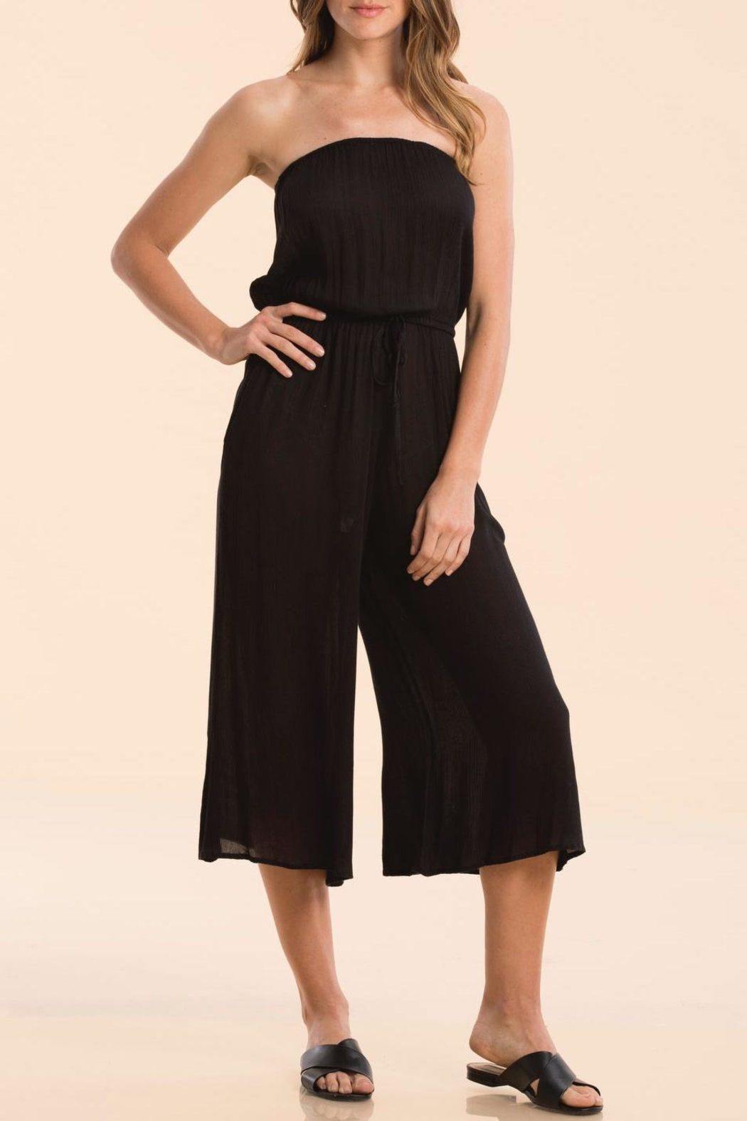 6504525ed02a Elan Strapless Culotte Jumpsuit from Ohio by The Co-Op on Camargo ...