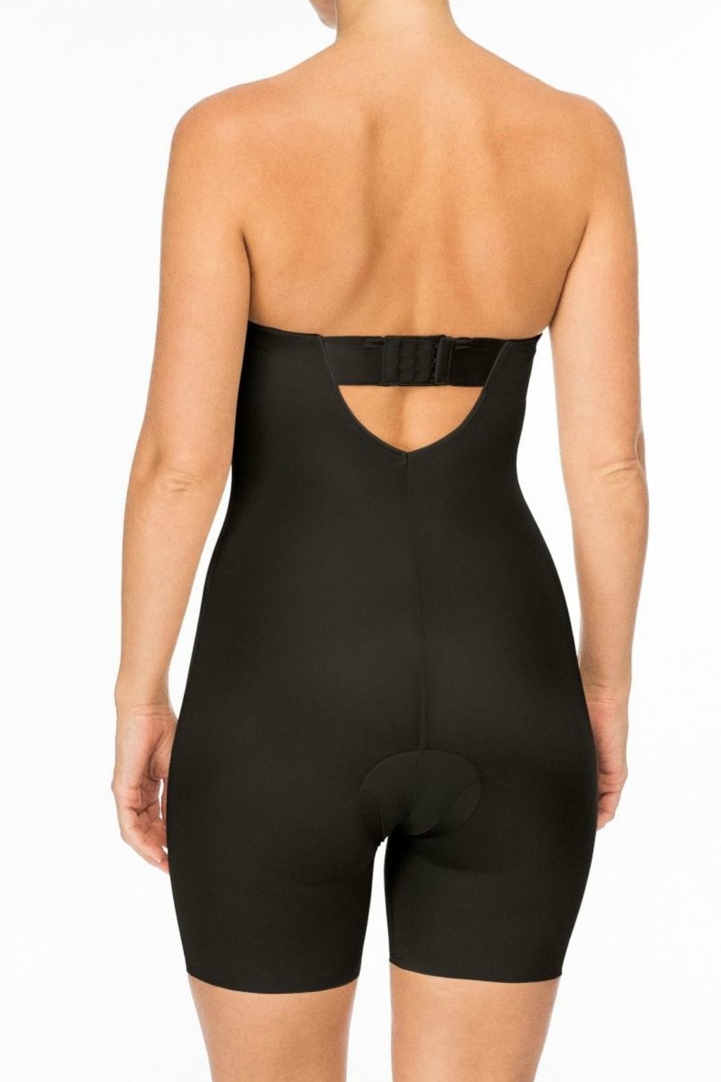 Spanx Strapless Cupped Bodysuit - Front Full Image