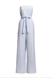 re:named Strapless Flirty Jumpsuit - Front cropped