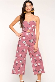 shop 17 Strapless Floral Jumpsuit - Product Mini Image