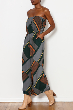 143 Story Strapless Geometric Jumpsuit - Product List Image