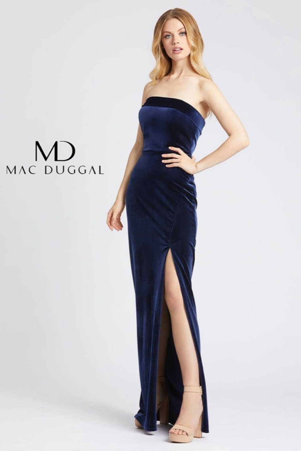 Mac Duggal STRAPLESS GOWN - Main Image