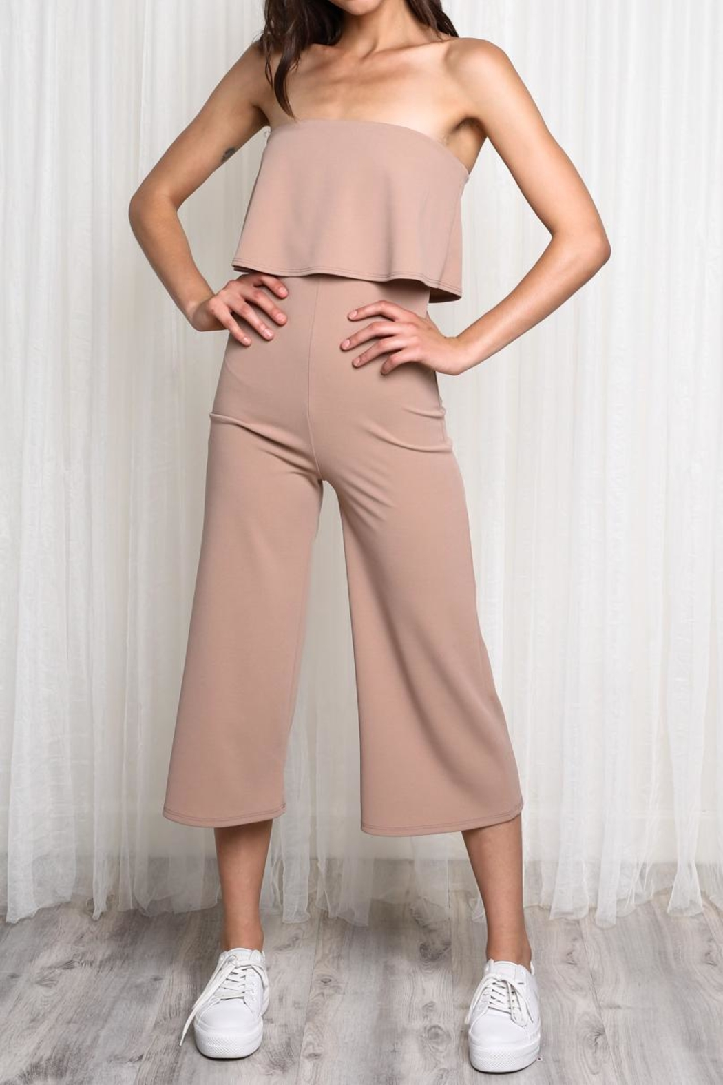 be757ee2e8250 blue blush Strapless Jumpsuit from Tennessee by Threads — Shoptiques