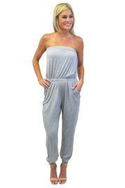 Piko  Strapless Jumpsuit - Product Mini Image
