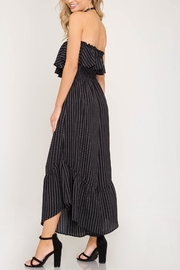Unknown Factory Strapless Jumpsuit - Front full body