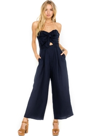 ASTR Strapless Jumpsuit - Front cropped