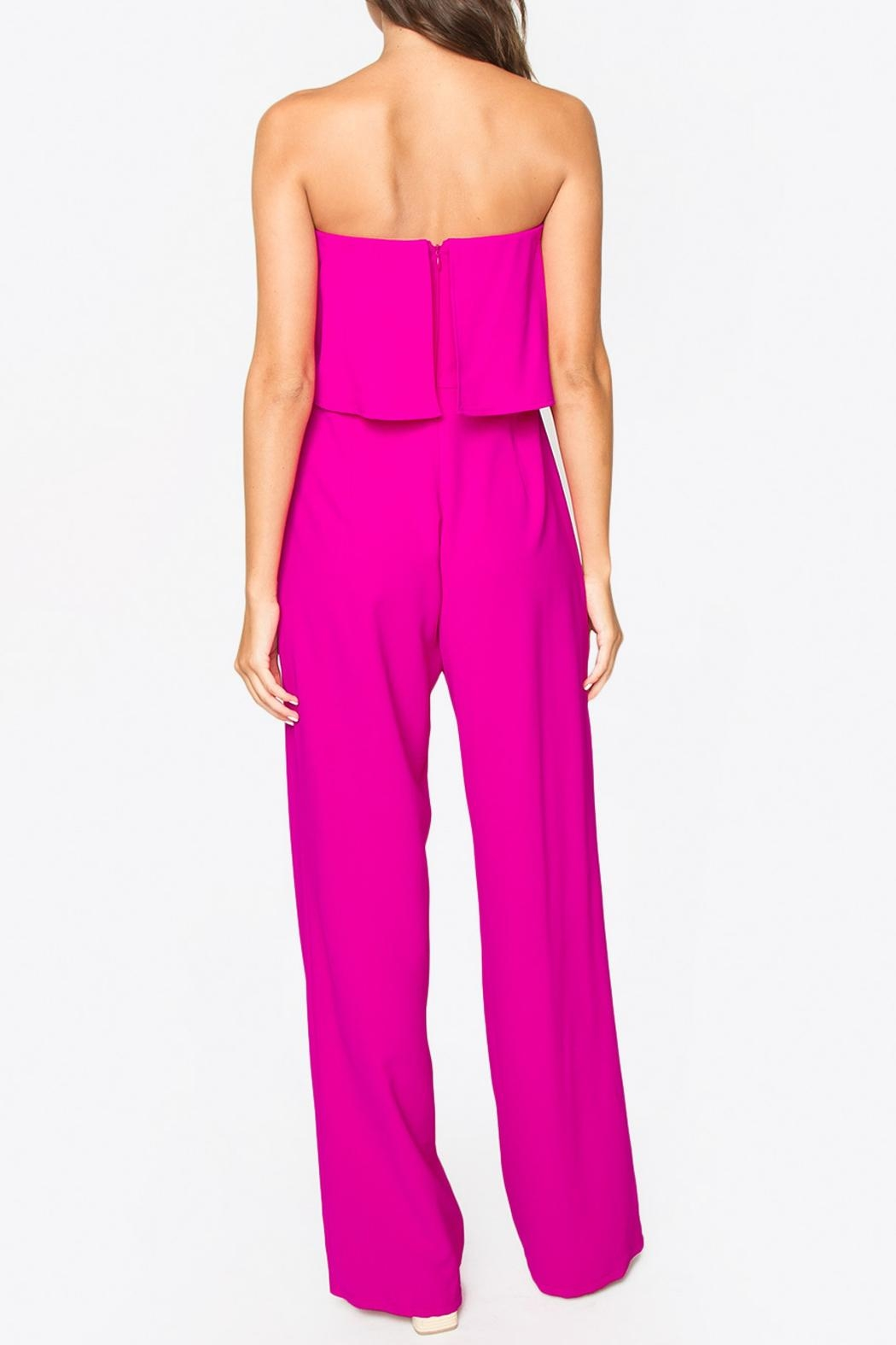 Sugar Lips Strapless Jumpsuit - Side Cropped Image