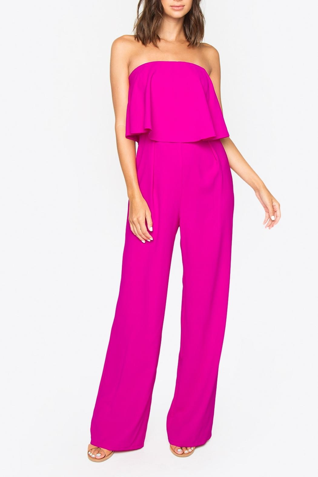 Sugar Lips Strapless Jumpsuit - Main Image