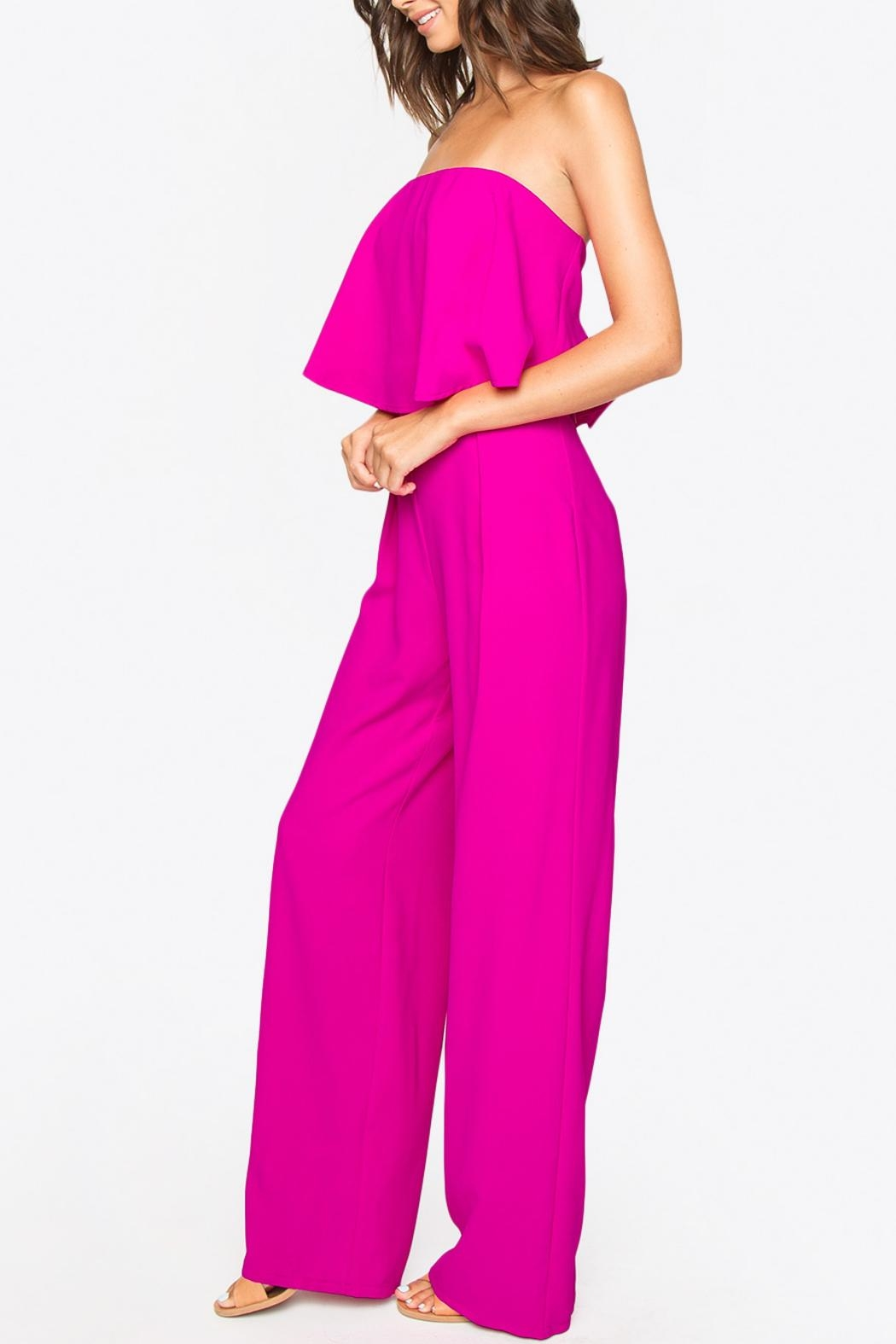 Sugar Lips Strapless Jumpsuit - Front Full Image