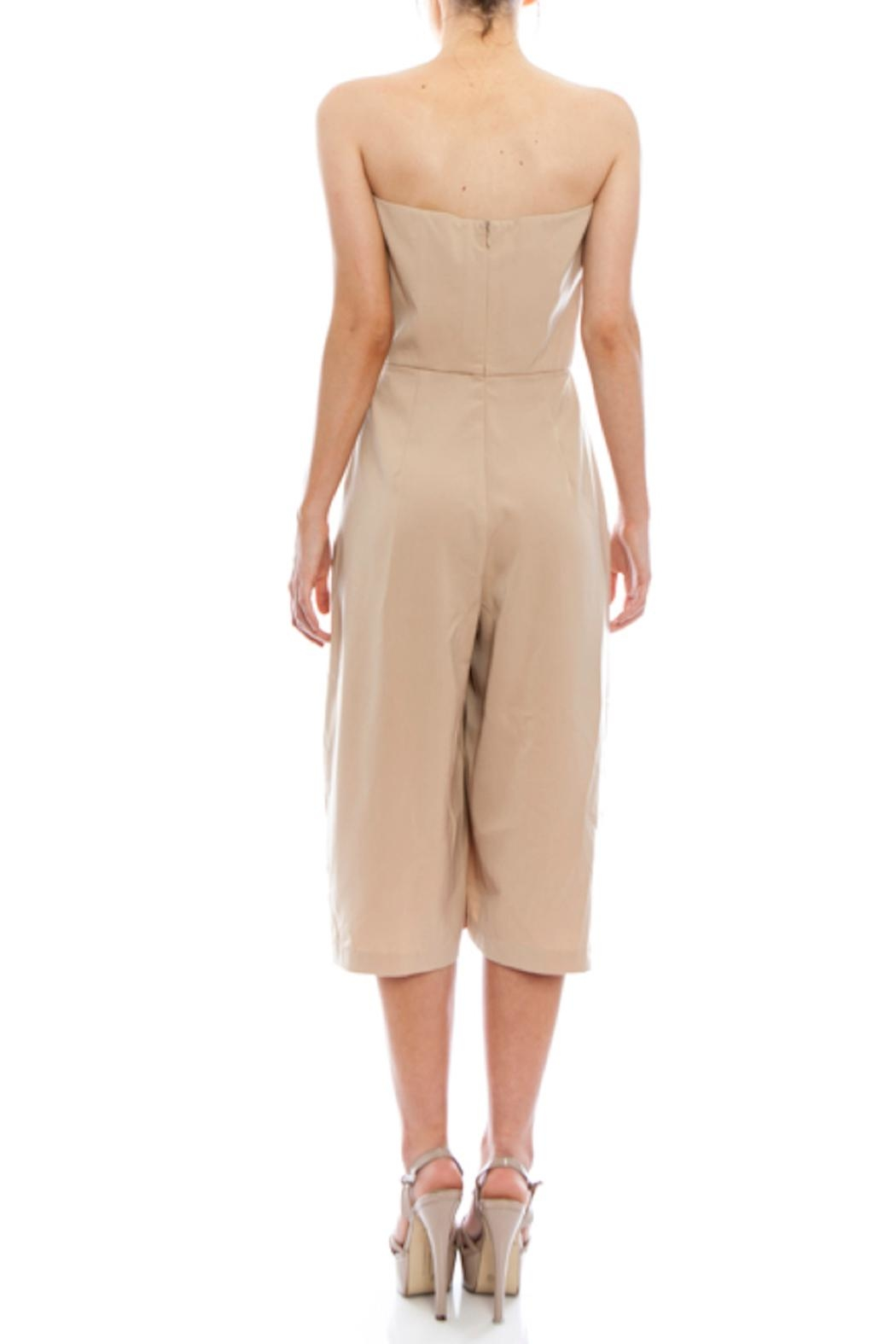OC Avenue Strapless Jumpsuit - Side Cropped Image
