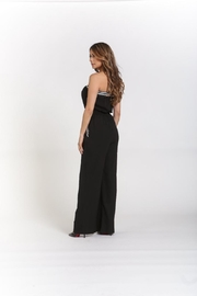 Rehab Strapless Jumpsuit W/pockets - Front full body
