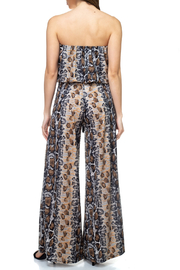 Ariella USA Strapless Jumpsuit w Rope Belt - Side cropped
