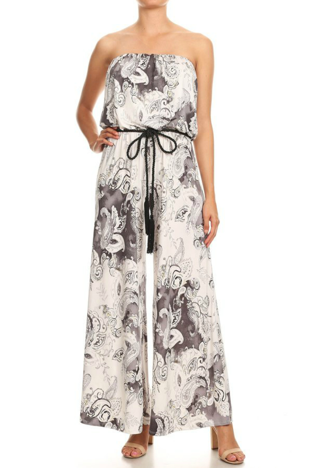 7f79f64c97db Ariella Strapless Jumpsuit w Rope Belt from New Jersey by ...