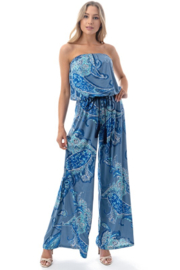 Ariella Strapless Jumpsuit with Cord - Product Mini Image