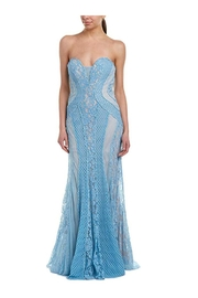 Issue New York Strapless Lace Dress - Product Mini Image
