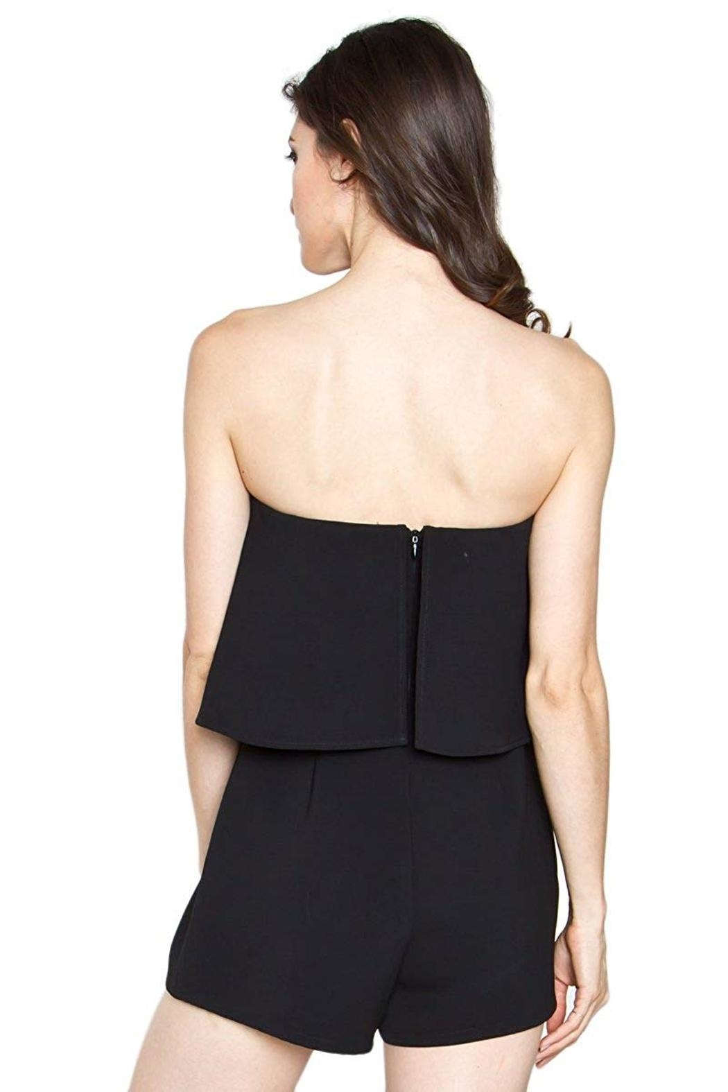 Sugarlips Tumi Strapless Romper - Front Full Image