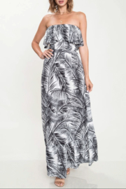 Latiste Strapless Leaf Dress - Product Mini Image