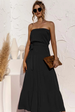 Esley  Strapless Maxi Dress - Product List Image