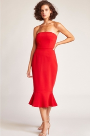 BB Dakota Strapless Midi Dress - Product Mini Image