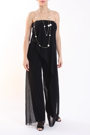 Talk of the Walk Strapless Overlay Jumpsuit - Product Mini Image