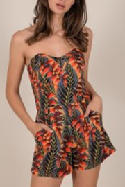 Molly Bracken Strapless Paradise Romper - Product Mini Image