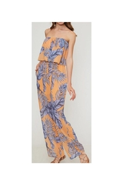 Fantastic Fawn Strapless Printed Jumpsuit - Product Mini Image