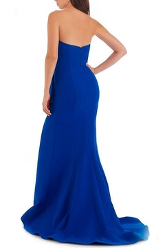 Morrell Maxie Strapless Stretch Crepe Gown - Alternate List Image