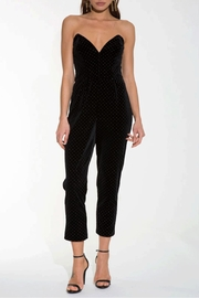 Amanda Uprichard Strapless Viv Jumpsuit - Product Mini Image