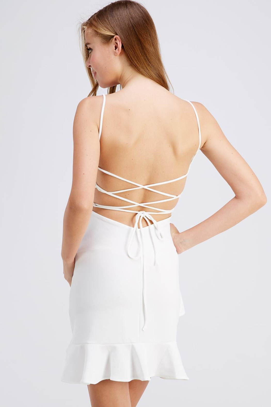 Symphony Strappy Back Dress - Front Full Image
