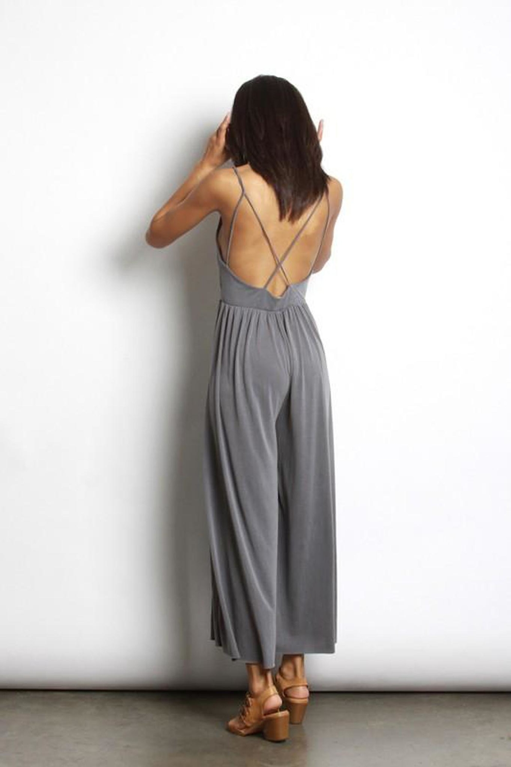 Mod Ref Strappy Back Jumpsuit - Front Full Image