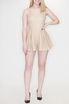 She + Sky Strappy Back Romper - Product List Image