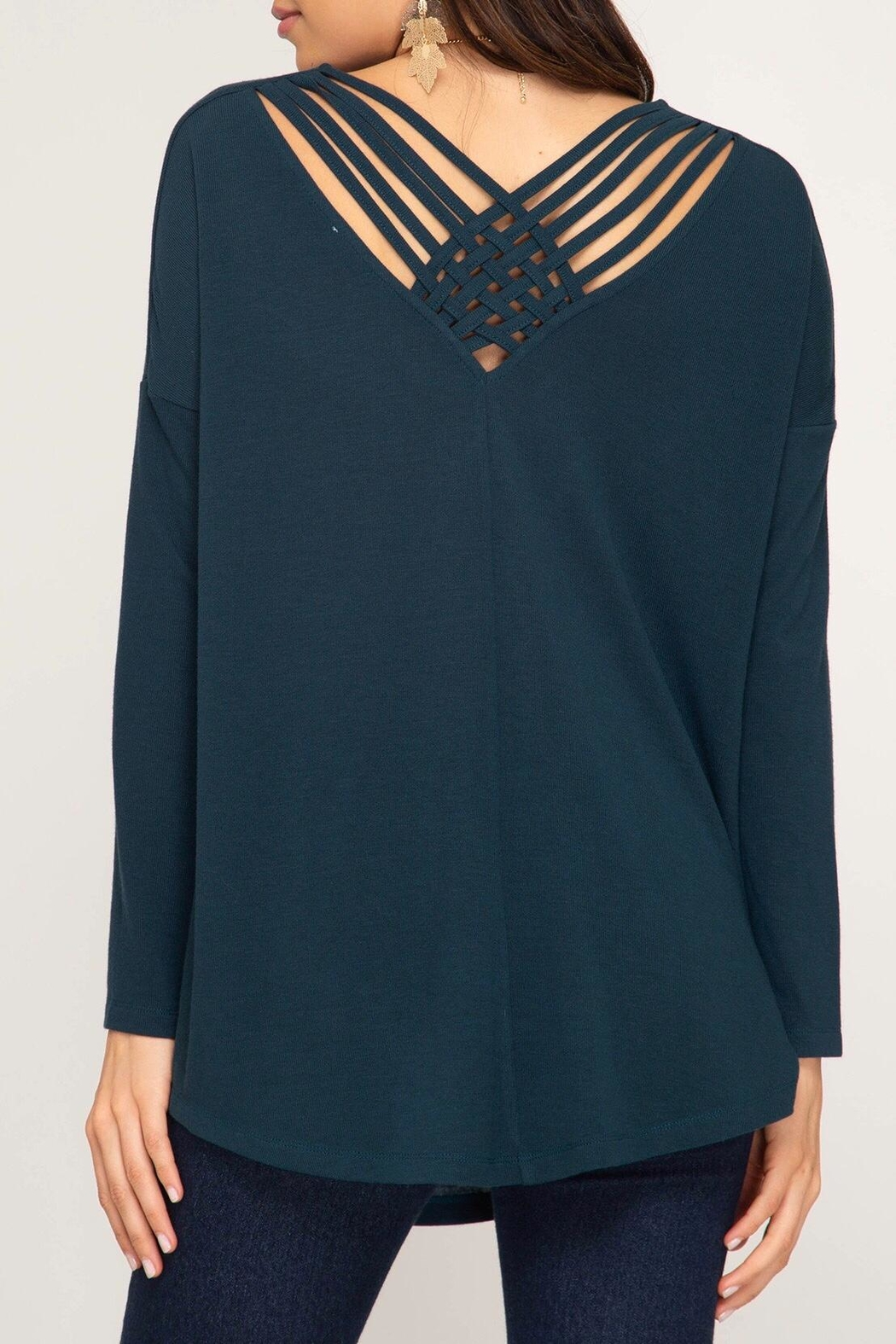 LuLu's Boutique Strappy Back Tunic - Main Image