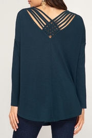 LuLu's Boutique Strappy Back Tunic - Front cropped