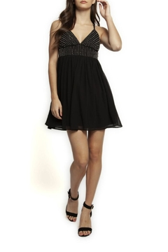 Dex Strappy Beaded Mini-Dress - Product List Image