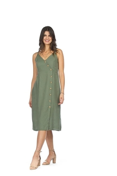 Papillon Eastern Imports Strappy Button Dress - Product List Image