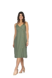 Papillon Eastern Imports Strappy Button Dress - Product Mini Image