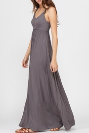 Wishlist Strappy Charcoal Maxi - Side cropped