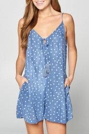 Style Rack Strappy Dot Romper - Product Mini Image