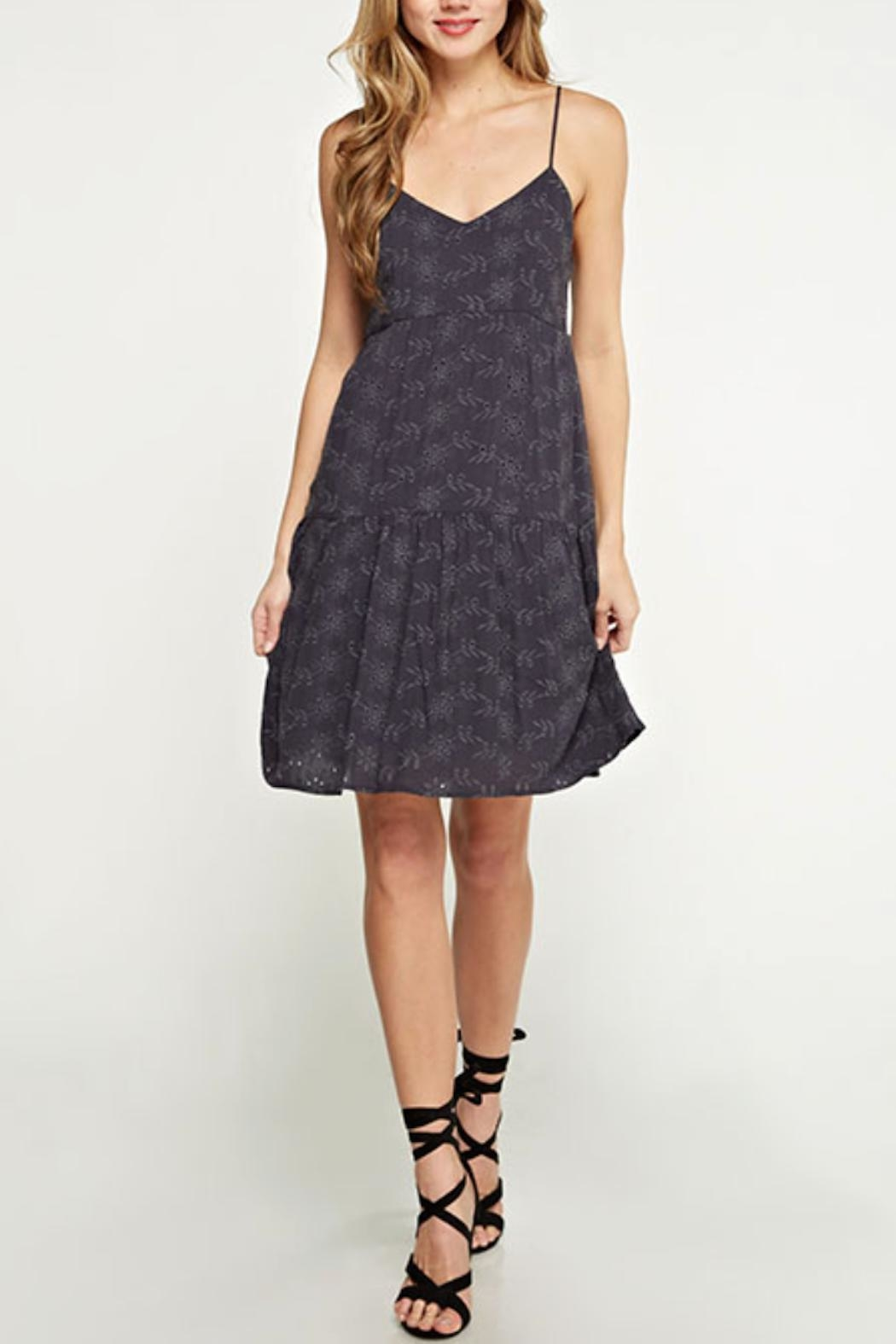 Love Stitch Strappy Eyelet Dress - Main Image
