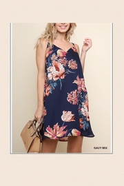 Umgee USA Strappy Floral Dress - Product Mini Image