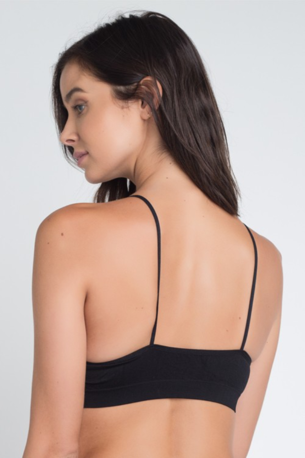 Anemone Strappy front detail active bra - Front Full Image